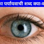 आंख का पर्यायवाची शब्द | Aankh Ka Paryayvachi Shabd
